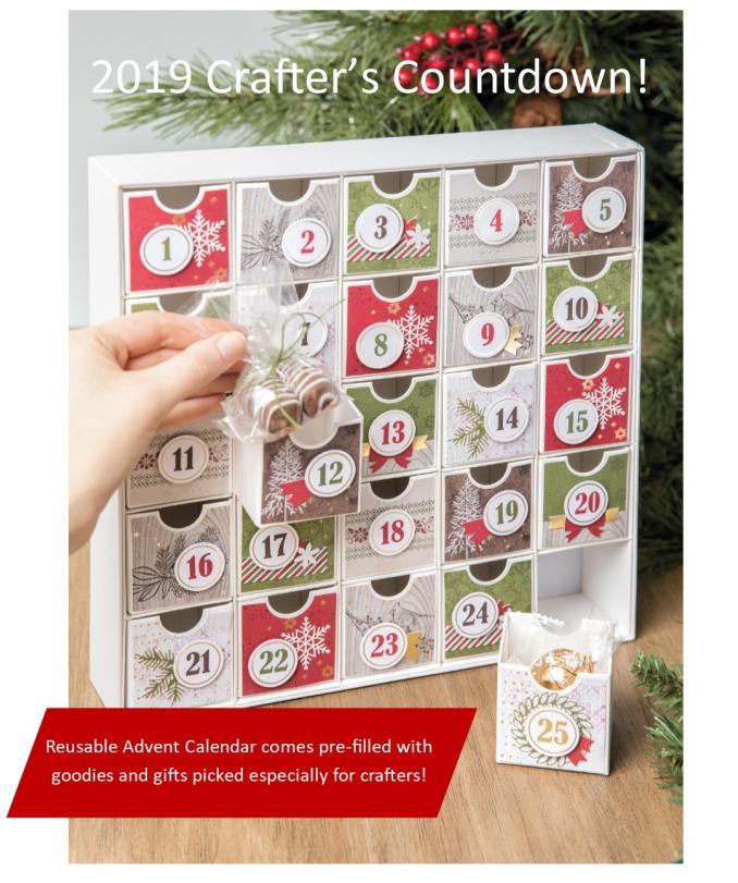 Crafters christmas calendar