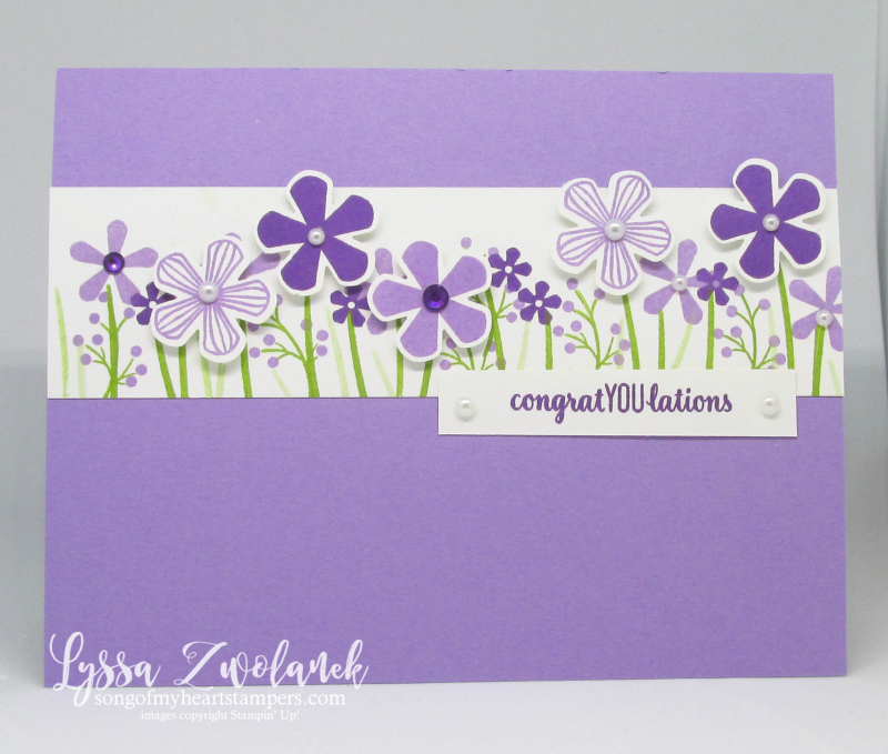 Thoughtful Blooms Stampin Up saleabration SAB rubber stamps punches blossoms flowers free