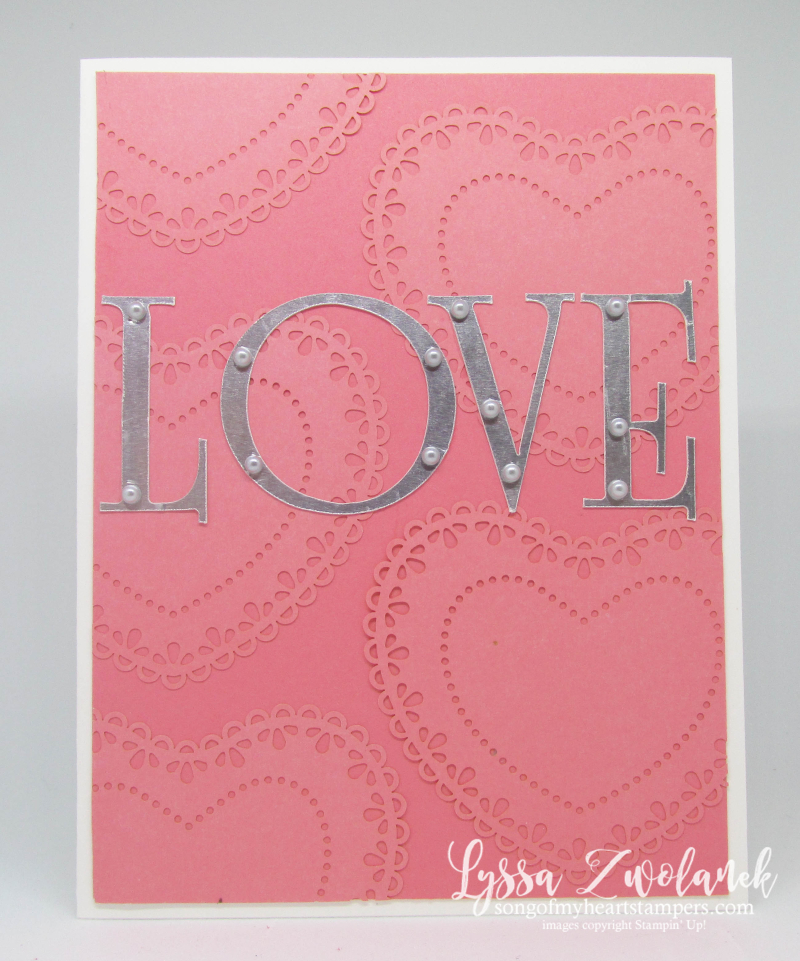 MLL January 2020 Stampin Up box valentine hearts love doily weddings Lyssa