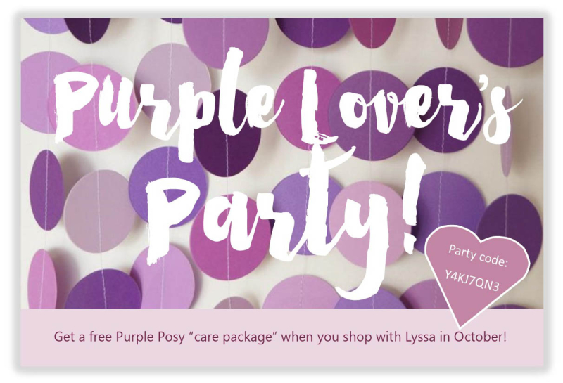 Purple lover party