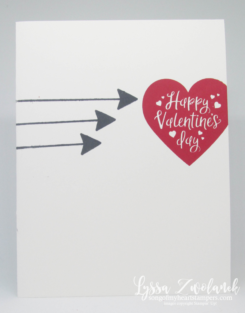 MLL January 2020 Stampin Up box valentine heart arrows love anniversary wedding Lyssa