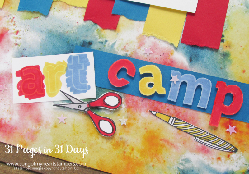 31 pages days scrapbooking 12x12 layouts kids camp art ideas scrapbook album 1