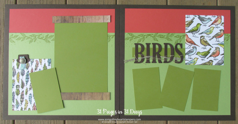31 pages days scrapbooking 12x12 layouts SU only page ideas scrapbook album 24