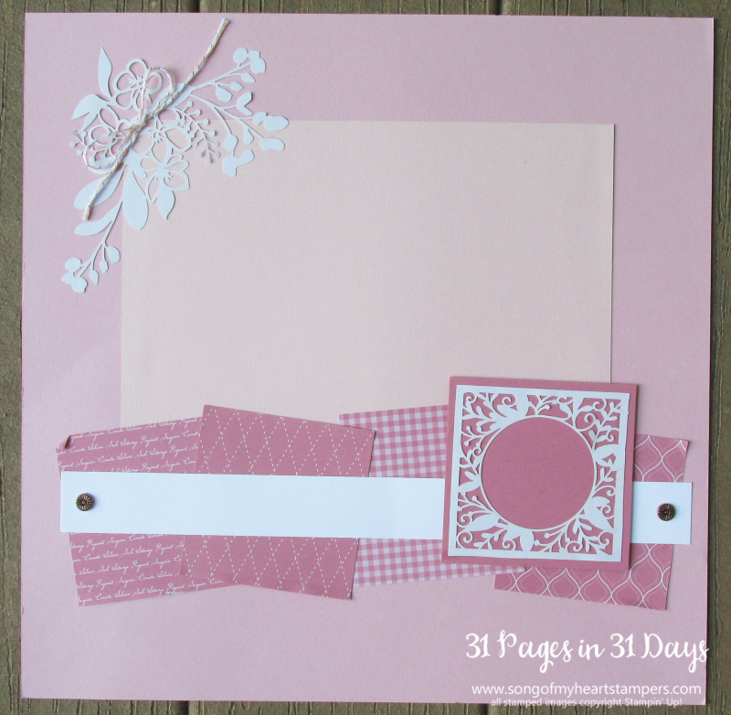 31 pages days scrapbooking 12x12 layouts SU only page ideas scrapbook album 11