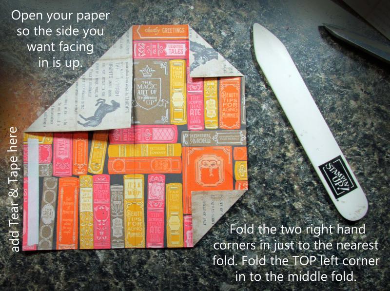 Skinny pocket treat holders 6x6 stampin up paper teacher classroom pencil tutorial candy halloween