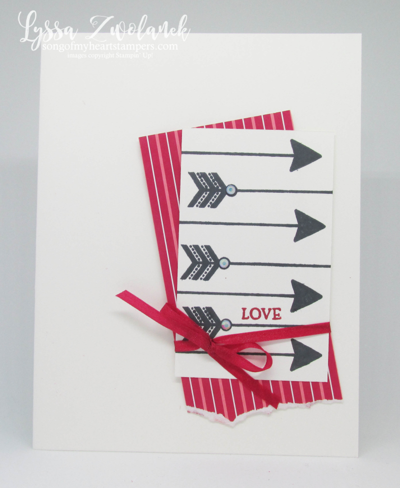 MLL January 2020 Stampin Up box valentine heart arrow love anniversary wedding Lyssa