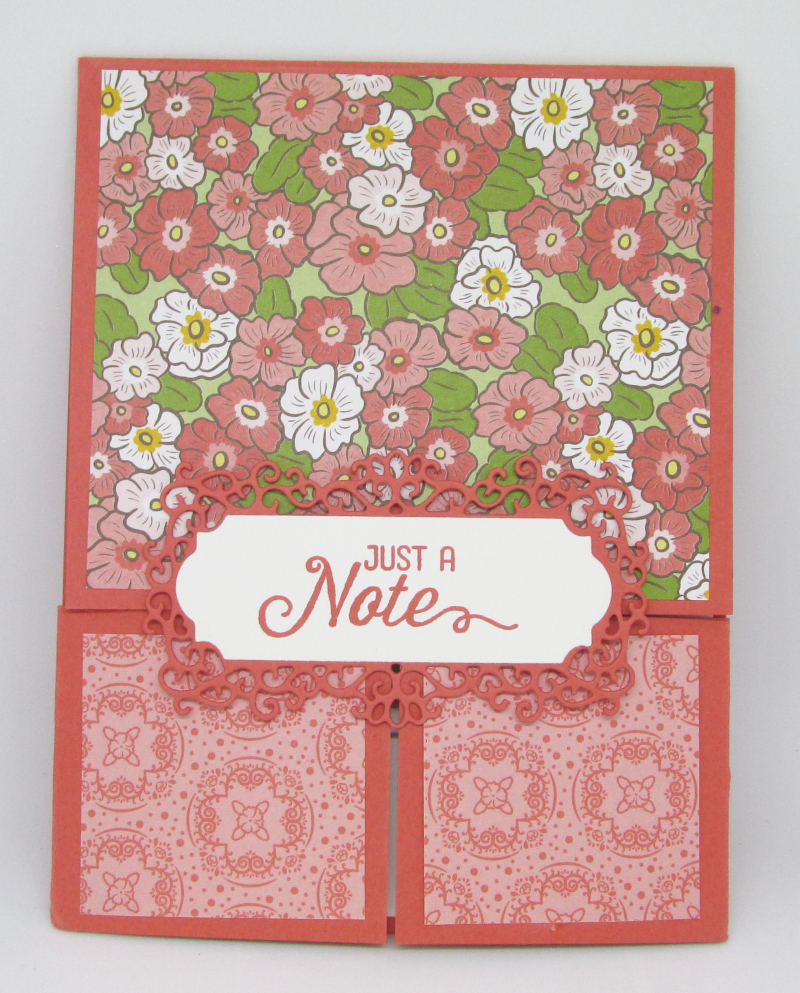 Ornate Garden Stampin Up suite medley dies double door bundle cardmaking