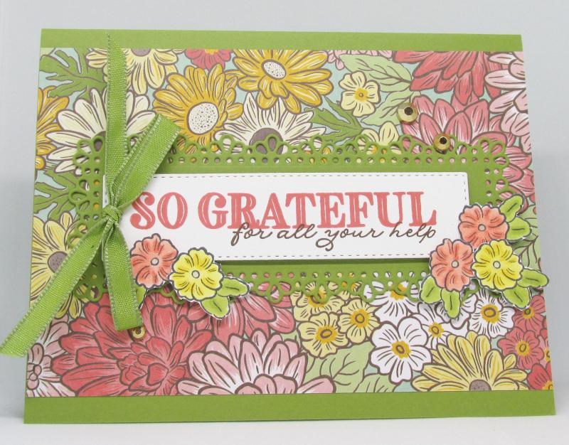 Ornate Garden Stampin Up suite medley dies catalog free bundle cardmaking