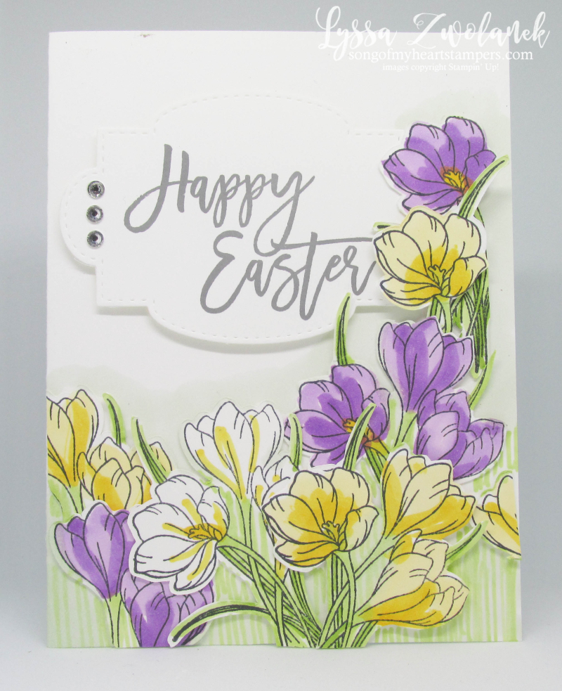 Easter holiday Ressurection card pastor risen indeed Stampin Up