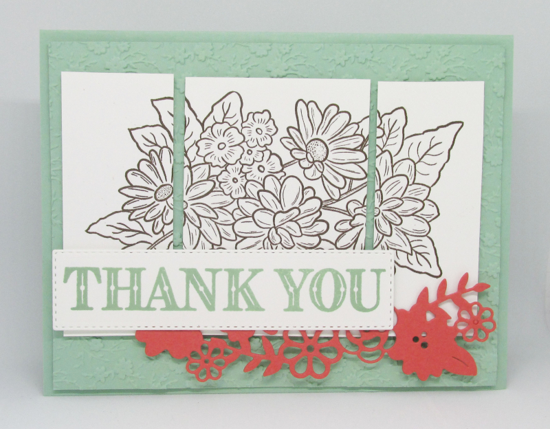 Ornate Garden Stampin Up suite medley dies stamps panel bundle cardmaking