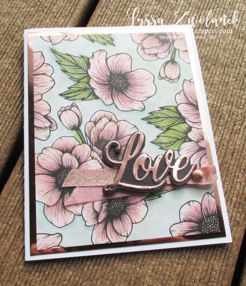 Love You Always Stampin Up true Suite sampler DIY cardmaking Lyssa