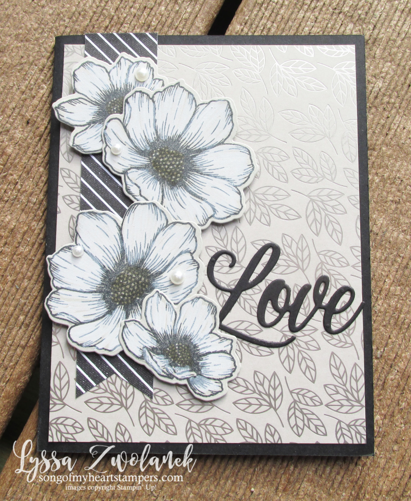 Love You Always Stampin Up true valentine hearts dies ideas cardmaking Lyssa