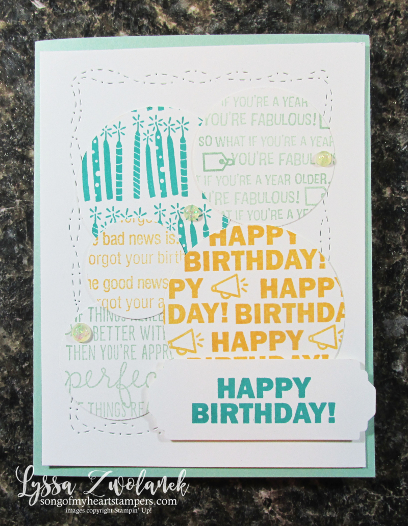 Approaching perfection Stampin Up SAB 2021 stamp set candles birthday printable cardmaking Lyssa