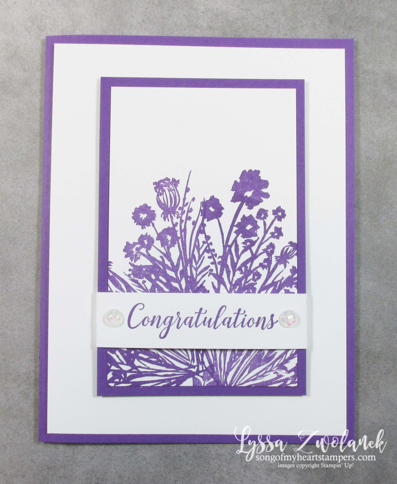 Corner bouquet Saleabration 2021 Stampin Up envelope garden rubber stamps free supplies