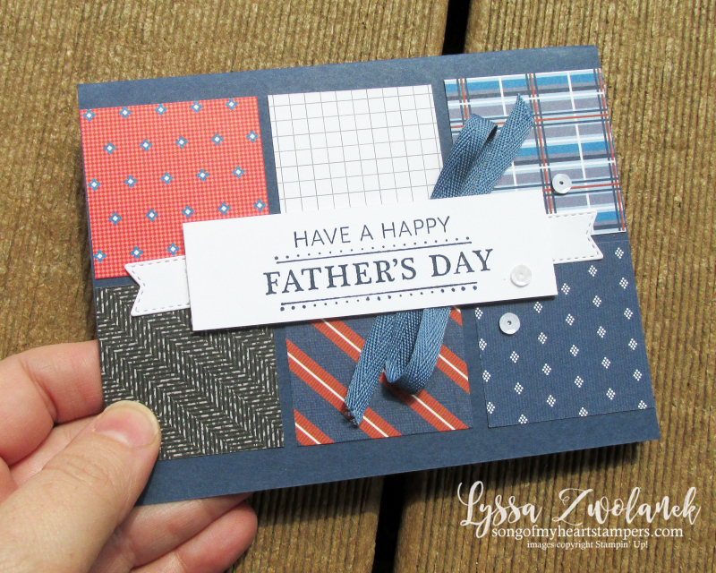 Well suited guy card masculine papers dad father