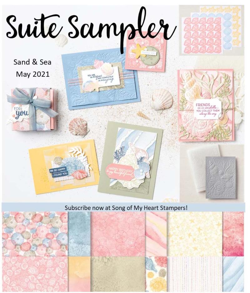 Suite Sampler Sand Sea May 2021