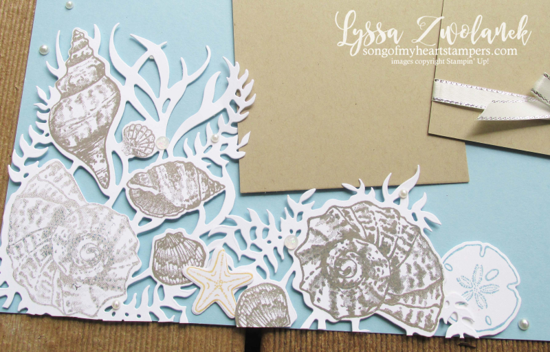 Friends Seashells sand sea Stampin Up rubber stamps supplies ideas techniques beach scrapbooking papers