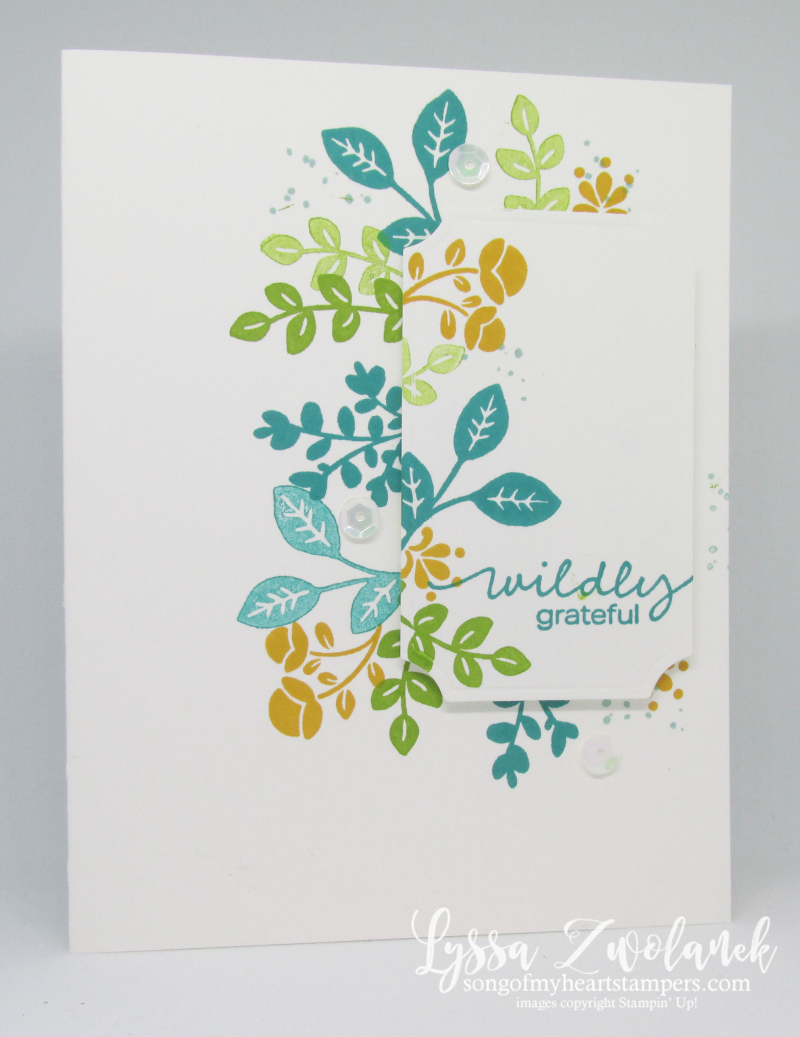Lovely You clean simple Lyssa Stampin Up cardmaking ideas tutorials rubber stamps