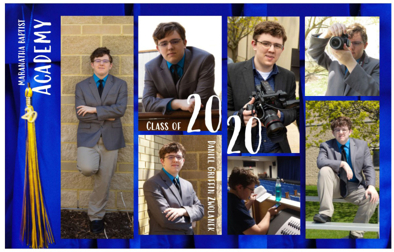 Daniel Graduation announcement