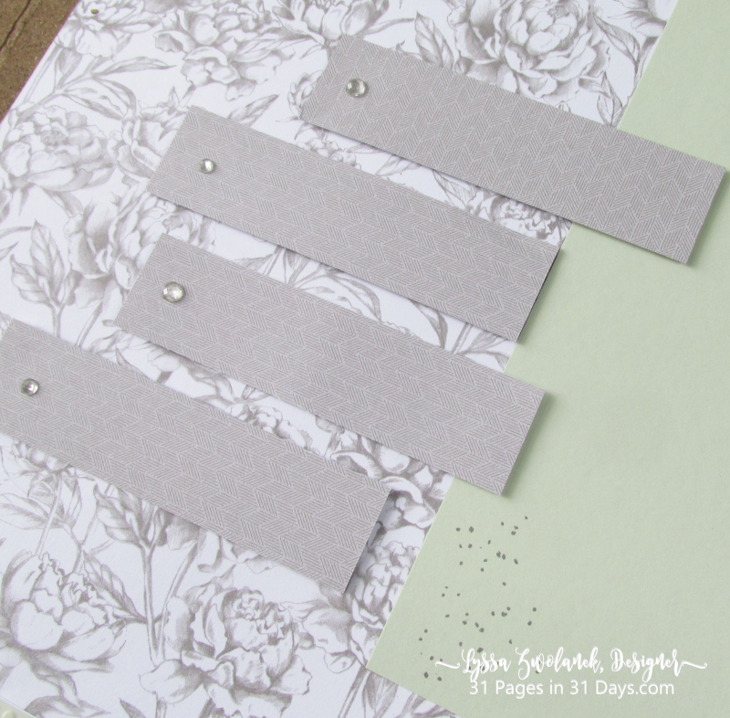 31 Pages Days Prized Peony Garden layout scrapbook page album wedding 12x12 Stampin Up