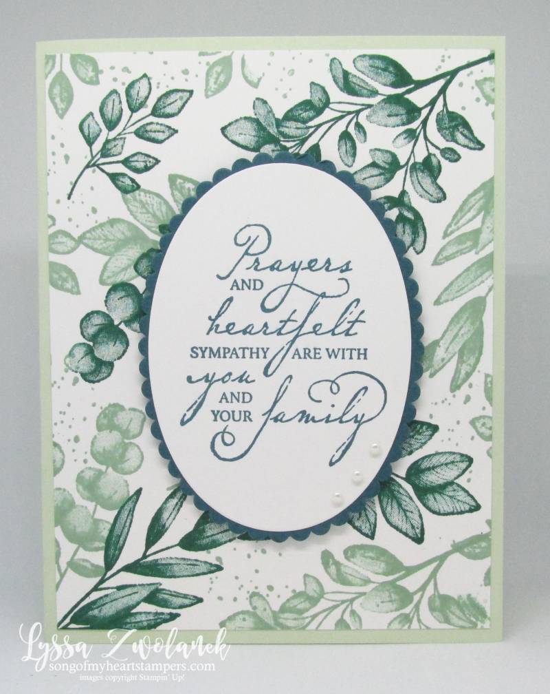 Forever Fern ferns greens leaves Stampin Up stamparatus techniques cardmaking supplies papers