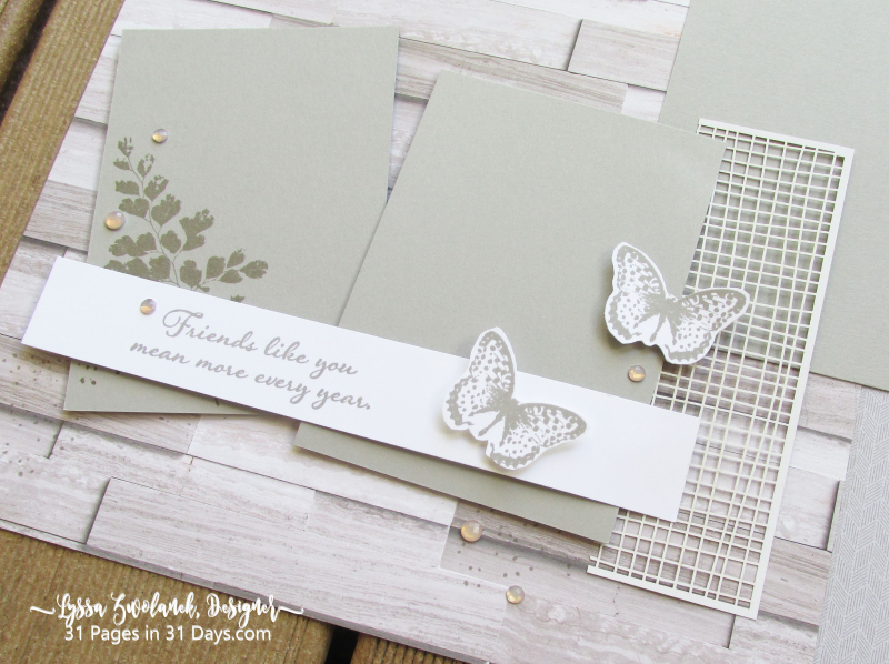 31 days layout pages albums scrapbooking 12x12 Lyssa Zwolanek