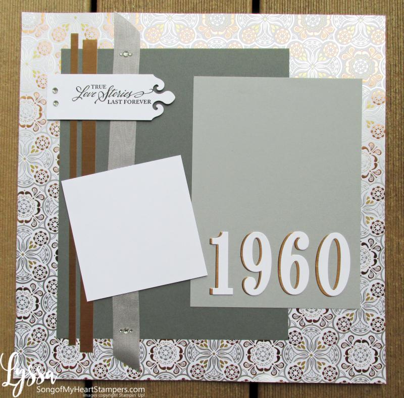 Suite Sampler simply elegant Lyssa Stampin Up layout anniversary ideas 31 days