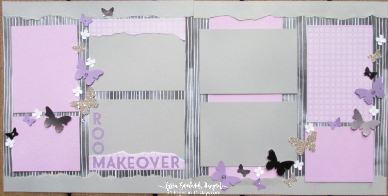 31 pages days series blog scrapbooking Lyssa Stampin Up ideas makeover layout studio