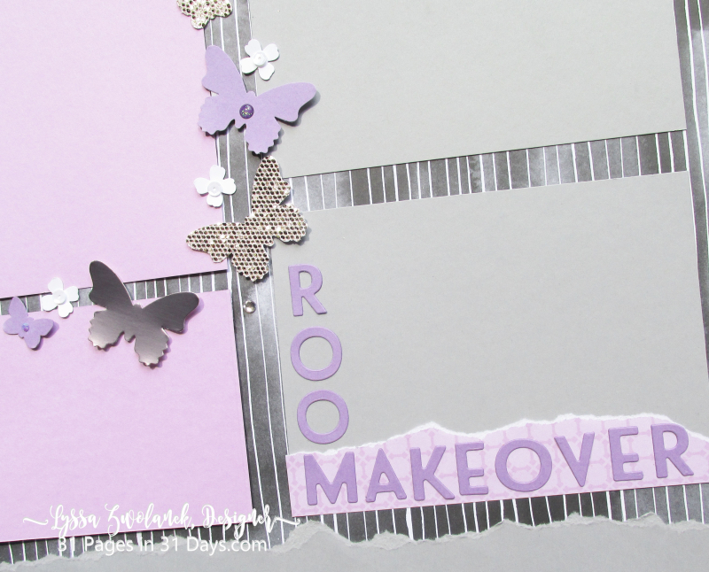 31 pages days series blog scrapbooking Lyssa Stampin Up makeover studio