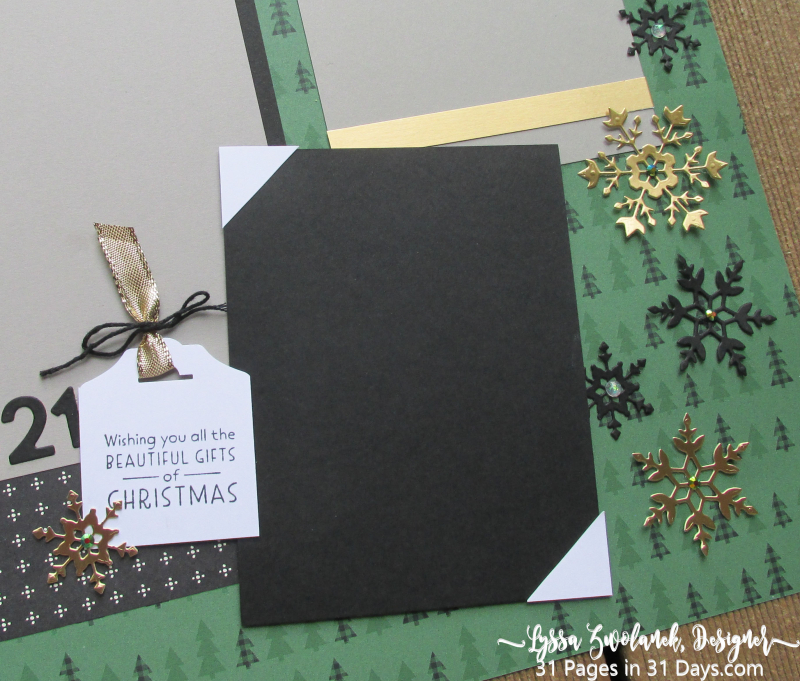 Christmas 31 Pages 31 Days layout album spreads ideas templates Lyssa Stampin Up