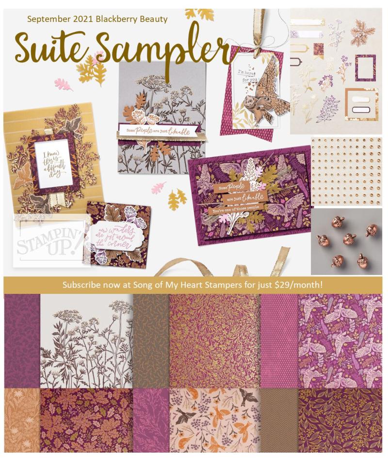 Suite Sampler Blackberry Beauty