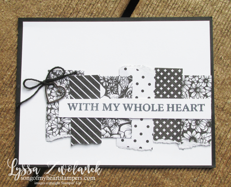Love You Always Stampin Up true scraps layouts DIY cardmaking Lyssa