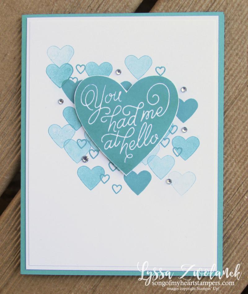 Valentine Keepsakes tean easy valentines 10 minutes Lyssa Stampin Up