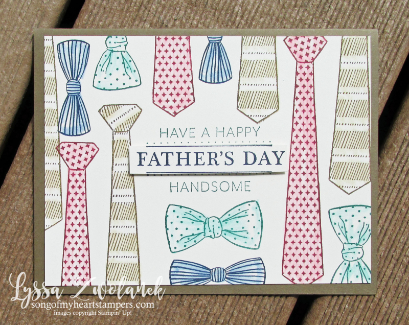 Well suited guy cards masculine stamps handsome dad father day