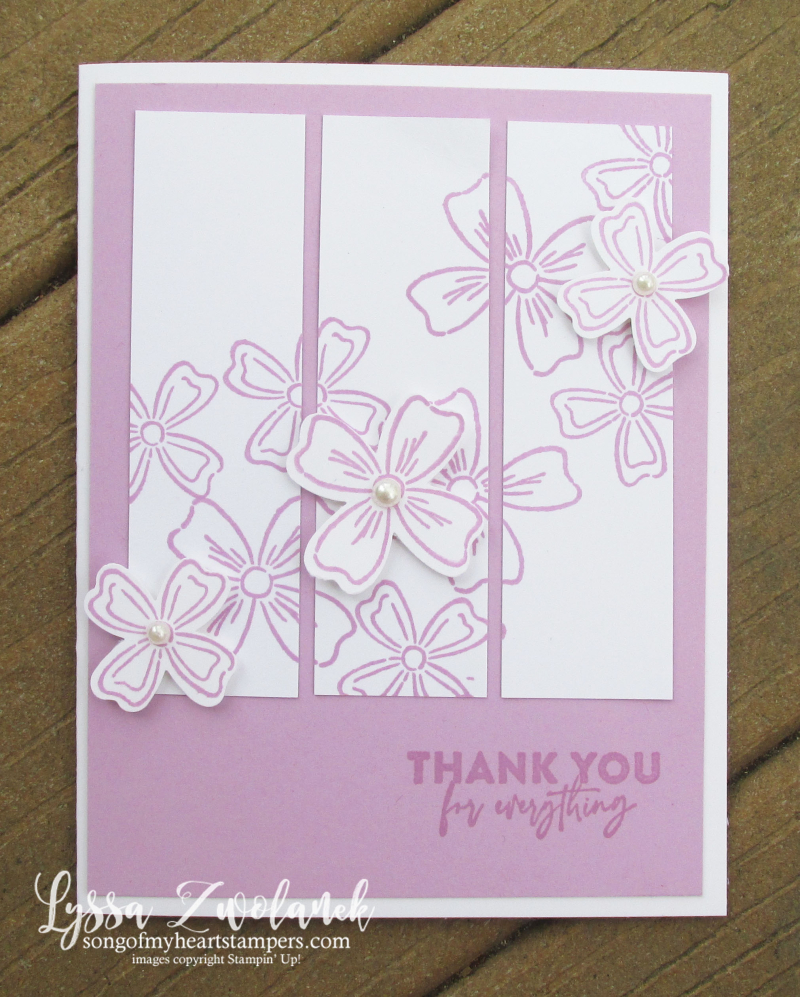 Fresh Freesia Stampin Up colors inkpad refill reinker pads stamps supplies