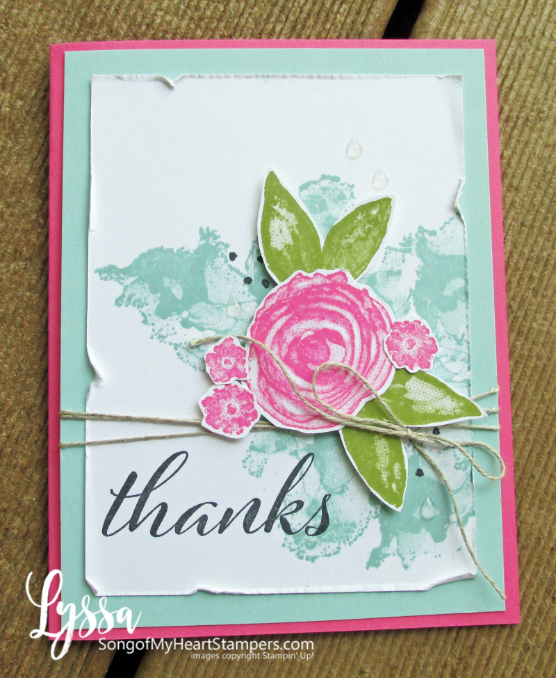 Artistic Expressions Ink Stampin Up class Lyssa tutorial suite cardmaking supplies cardstock stamps