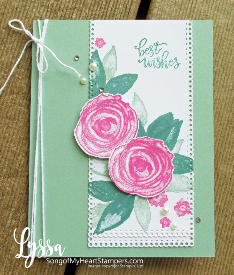 Artistic Expressions Ink Stampin Up class Lyssa tutorial suite cardmaking supplies rubber stamps