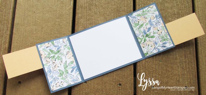 Hand penned petals Stampin Up suite sampler Lyssa memories more card pack idea