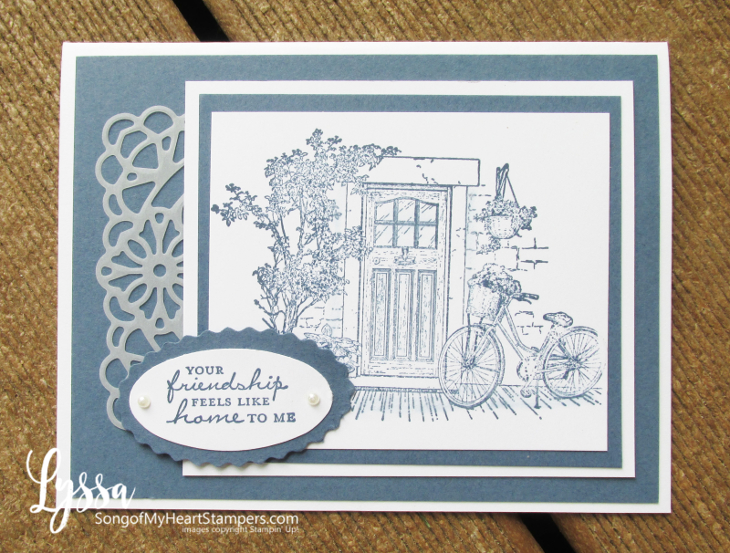 Saleabration Stampin Up free rubber stamps Lyssa cardmaking classes ideas techniques