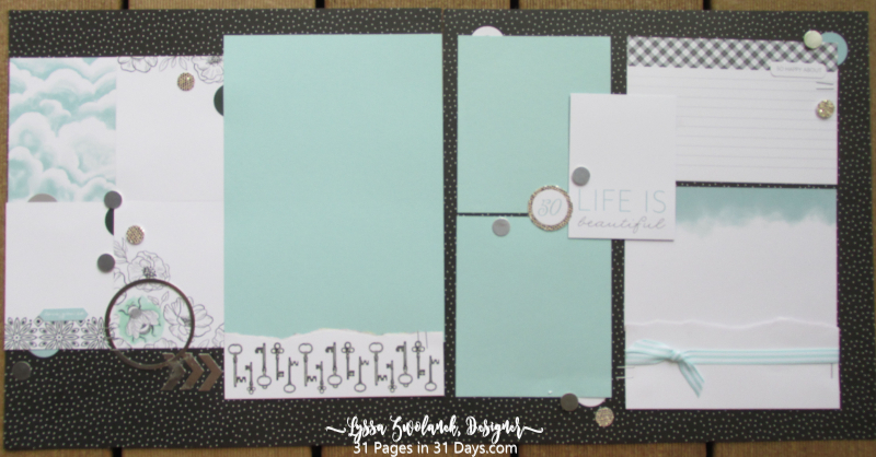 12x12 31 Pages Days scrapbooking series Lyssa memories more Stampin Up beautiful life album