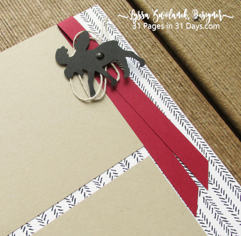 Moose 31 pages days Stampin Up scrapbooking layouts spreads Lyssa summer school north
