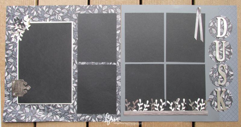 Suite Sampler simply elegant Lyssa Stampin Up layout album page ideas 31 days