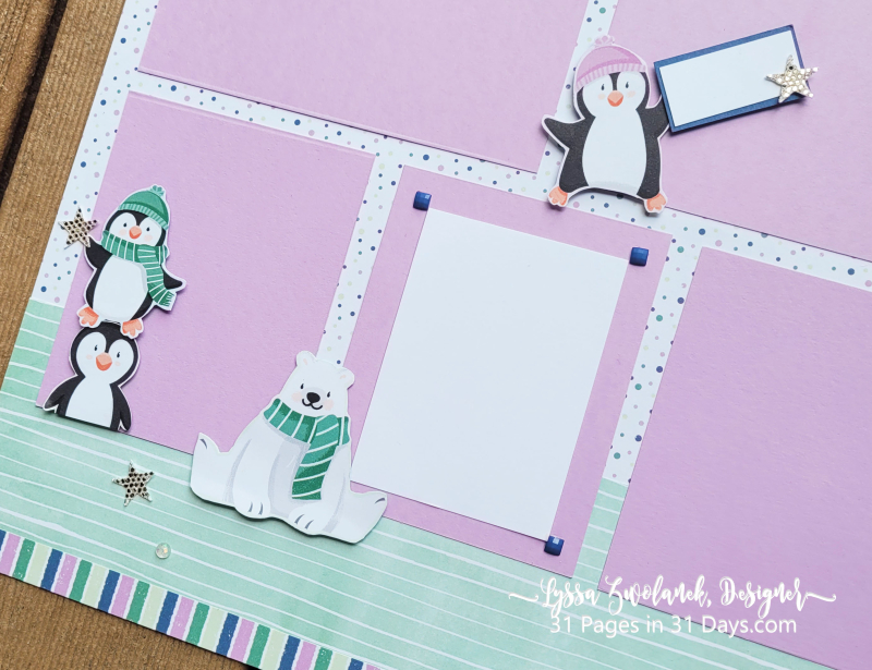 31 days penguin layout saleabration Stampin Up coupon freebie offers sales 12x12 albums