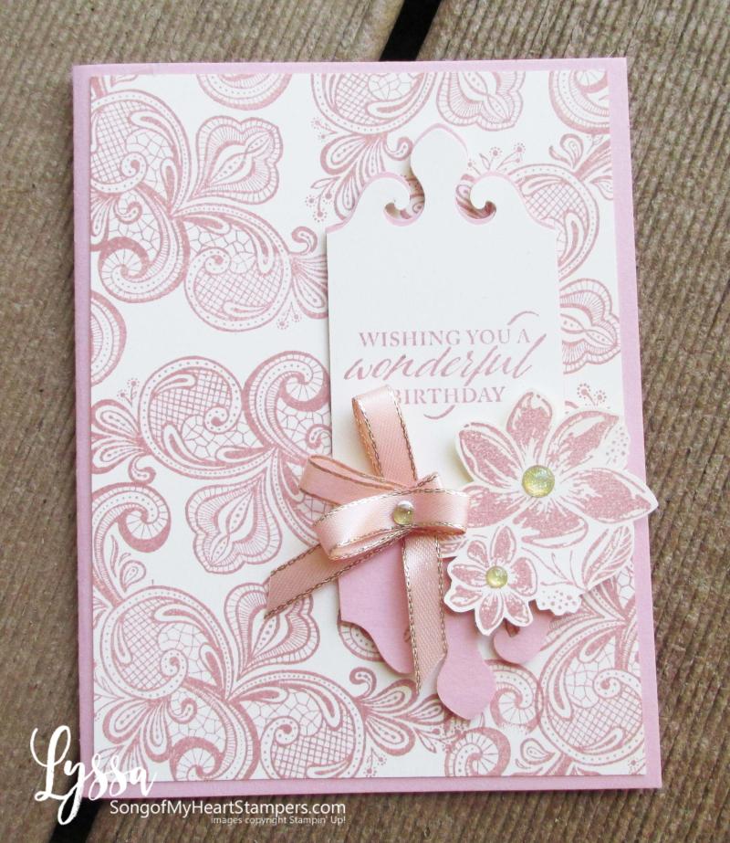 Simply elegant Stampin Up punch suite wedding anniversary formal invitations birthday DIY cardmaking