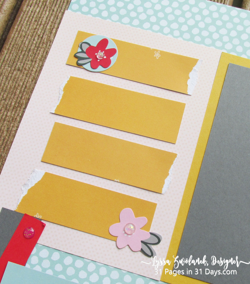 12x12 Pages 31 Days Lyssa Scrapbooking houses home new layout ideas album just moved