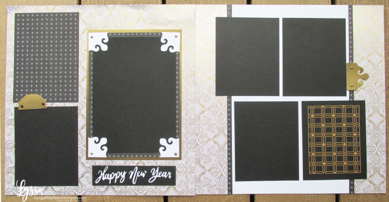 Suite Sampler simply elegant Lyssa Stampin Up layout lace page ideas 31 days