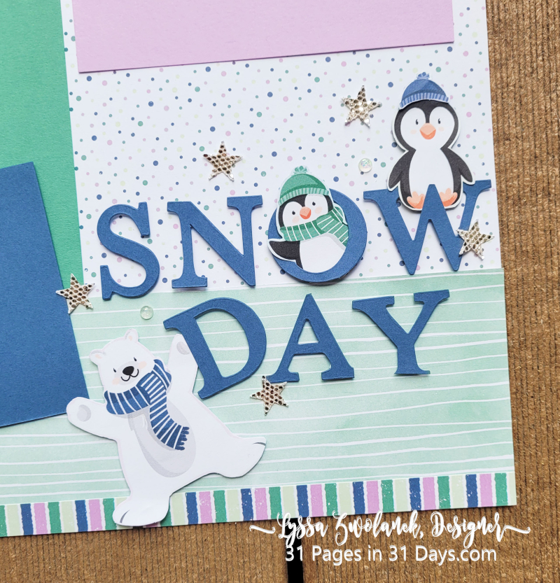 31 days penguin layout saleabration Stampin Up coupon freebie offers sale 12x12 albums